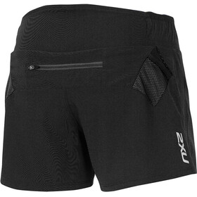 "2XU W's Xtrm 4"" 2in1 Shorts Black/Black"